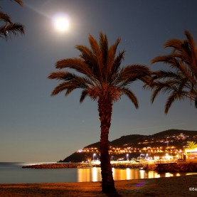 Portfolio - French Riviera by night